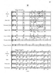 Symphony No.1 in C Minor 'The Bells of Zlonice', B.9 Op.3: Movement II by Antonín Dvořák