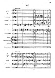 Symphony No.1 in C Minor 'The Bells of Zlonice', B.9 Op.3: Movement III by Antonín Dvořák