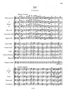 Symphony No.1 in C Minor 'The Bells of Zlonice', B.9 Op.3: Movement IV by Antonín Dvořák