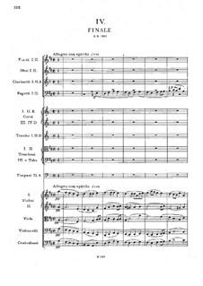 Symphony No.6 in D Major, B.112 Op.60: Movement IV by Antonín Dvořák