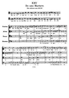 De uno Martyre. Deus, tuorum militum Sors: De uno Martyre. Deus, tuorum militum Sors by Tomás Luis de Victoria