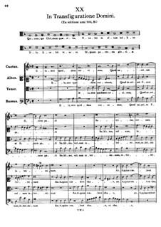 In Transfiguratione Domini. Quicumque Christum quaeritis: In Transfiguratione Domini. Quicumque Christum quaeritis by Tomás Luis de Victoria
