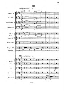 Movement III: Full score by Antonín Dvořák