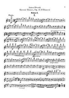 Book I: Oboes parts by Antonín Dvořák