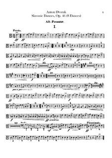 Book I: Trombones parts by Antonín Dvořák