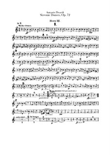 Complete Cycle: Horns III, IV parts by Antonín Dvořák