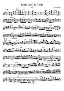 Etude East & West, Op.1: Etude East & West by Ivanandajazz