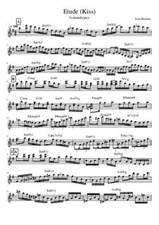 Etude Kiss, Op.1: Etude Kiss by Ivanandajazz