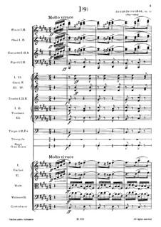 No.1 Odzemek: Full score by Antonín Dvořák