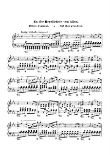 Woman's Love and Life, Op.42: No.2 Oh! thou grandes, for Piano by Robert Schumann