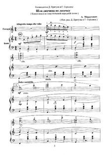 Композиция на тему польской народной песни 'Шла дивчина по лесочку' для гитары и баяна: Композиция на тему польской народной песни 'Шла дивчина по лесочку' для гитары и баяна by Alexander Morduhovich