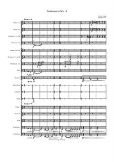 Sinfonietta No.4: Sinfonietta No.4 by Jordan Grigg