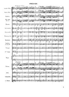 First Suite: Prelude by Georges Bizet