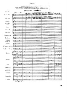 Complete Opera: Act II by Georges Bizet