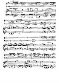 String Sextet No.2 in G Major, Op.36: Movement III. Version for piano trio by Johannes Brahms