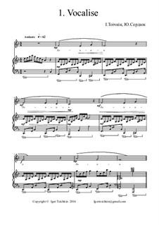 Vocalise F-Dur: Vocalise F-Dur by Igor Toichkin, Julia Serdyuk