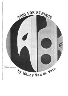 Trio for Strings: Parts by Nancy Van de Vate