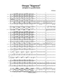 Selected Themes: Entracte to 4 Akt by Georges Bizet