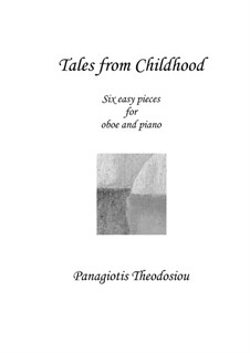 Tales from Childhood: For oboe and piano, Op.60c by Panagiotis Theodossiou