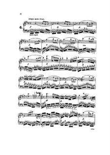 Tausig Edition: Etudes No.6-9 by Muzio Clementi