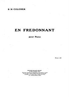 En fredonnant: En fredonnant by Blas María de Colomer