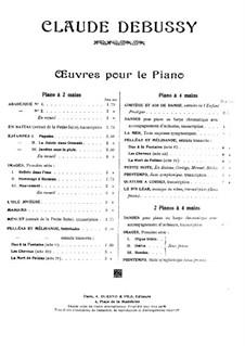Pelléas et Mélisande, L.88: For piano four hands by Claude Debussy
