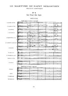 Le Martyre de Saint Sébastien, L.124: Fragments symphoniques by Claude Debussy