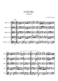 Fanfare für Pless und Parforceh: Fanfare für Pless und Parforceh by Unknown (works before 1850)