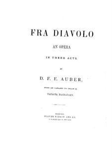 Overture: Piano score by Daniel Auber