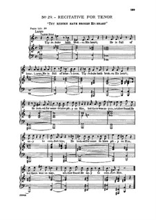 No.30 Behold, and See if There be Any Sorrow: Recitative and aria for tenor by Georg Friedrich Händel