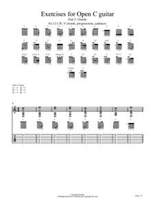 Ex.12 I, IV, V chords, progressions, cadences: Ex.12 I, IV, V chords, progressions, cadences by chenresi