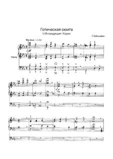 No.1 Introduction-Choral: For organ by Léon Boëllmann