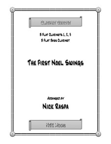 The First Noel Swings: For clarinet quartet by folklore