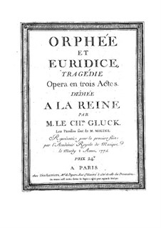 Complete Opera: Full score by Christoph Willibald Gluck