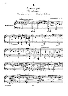 Lyric Pieces, Op.54: Complete set by Edvard Grieg