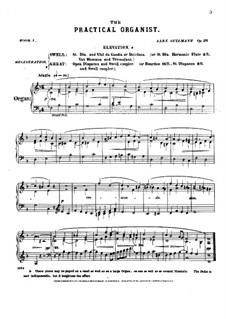 L'organiste pratique (The Practical Organist): Book I. All Pieces, Op.39 by Alexandre Guilmant