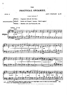 L'organiste pratique (The Practical Organist): Book III. All Pieces, Op.46 by Alexandre Guilmant