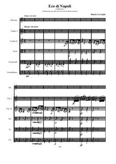 L'eco di Napoli - Capriccio: Adaptation and orchestration for ottavino and archi by Donato Lovreglio