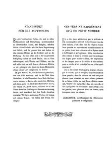Harmonies poétiques et religieuses. Pensée des morts, S.154: For piano by Franz Liszt