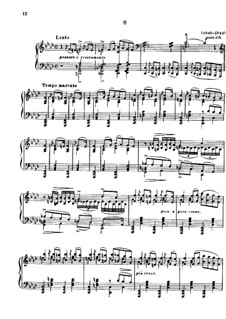 Magyar Dalok (Hungarian National Melodies), S.242: No.8 in F Minor by Franz Liszt