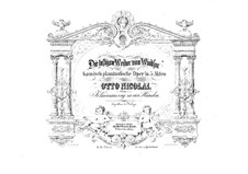The Merry Wives of Windsor: Arrangement for piano four hands by Otto Nicolai