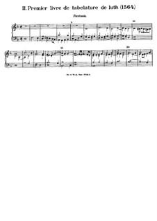 Premier livre de tabelature de luth: Premier livre de tabelature de luth by Bálint Bakfark, Loyset Piéton, Clément Janequin
