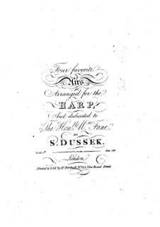 Four Favorite Arias: Four Favorite Arias by Sophia Dussek