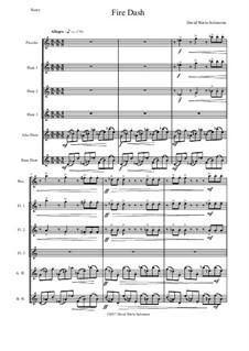 Fire Dash: For flute sextet by David W Solomons