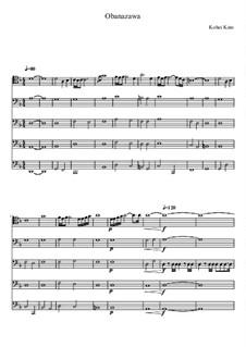 Obanazawa for 5 cellos: Obanazawa for 5 cellos by Kohei Kato
