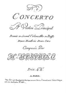 Violin Concerto No.6 in E Major: Violin Concerto No.6 in E Major by Niccolò Mestrino