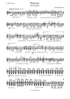 Preveza: For guitar solo by Kostas Grigoreas