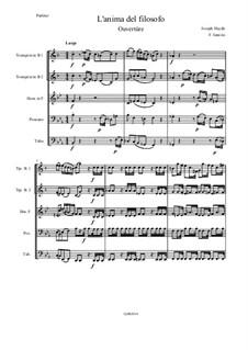 L'anima del filosofo: Ouvertüre by Joseph Haydn