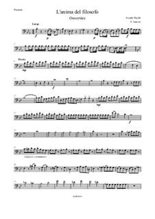 L'anima del filosofo: Ouvertüre – Posaune by Joseph Haydn
