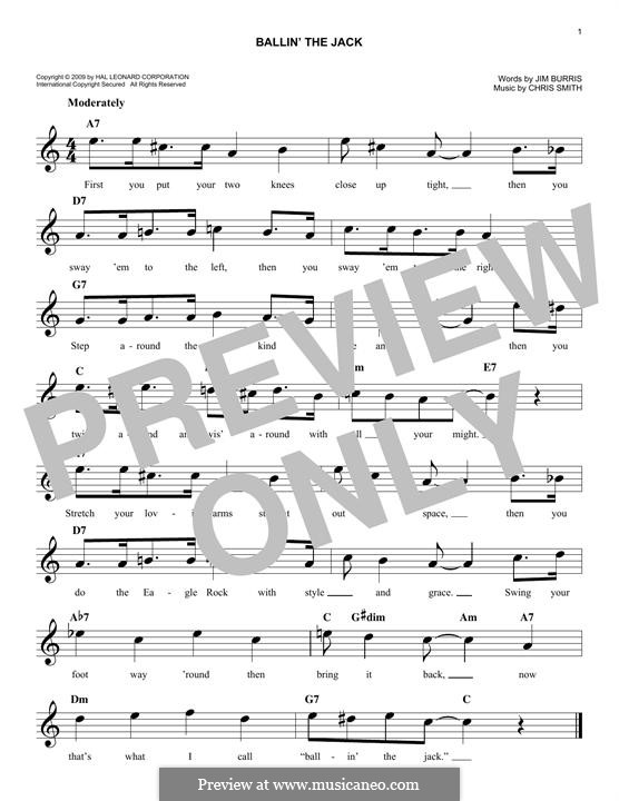 Ballin' the Jack: Lyrics and chords by Chris Smith